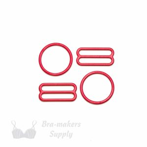 bra strap adjusters red