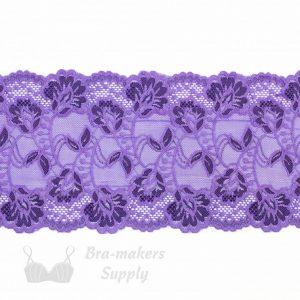 six inch lilac purple