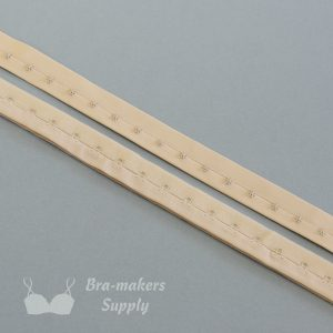hook and eye tape beige