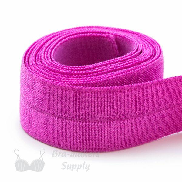 foldover elastic fuchsia