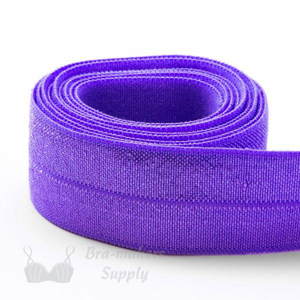 foldover elastic lilac