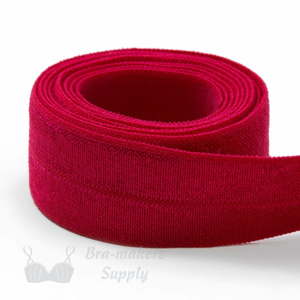 foldover elastic red