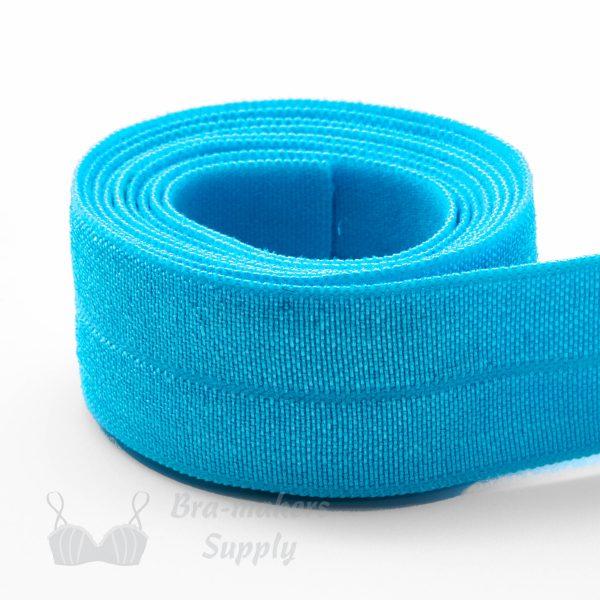 foldover elastic turquoise
