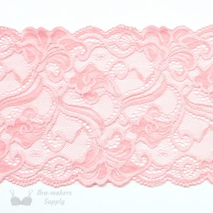 stretch lace pink 6ins