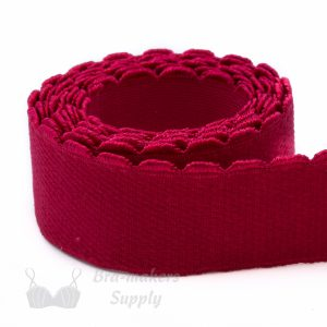 top band elastic red